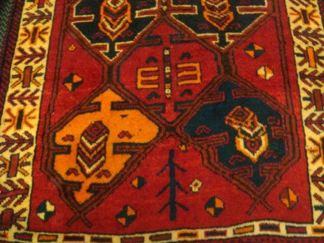 Wool Iranian Rug: - 2