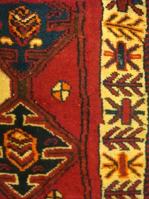 Wool Iranian Rug: - 3