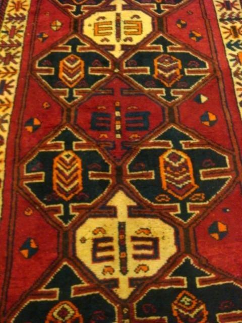Wool Iranian Rug: - 4