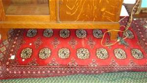Hand Woven Persian Wool Bokhara Area Rug