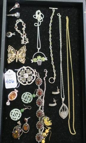 Array of Ladies Costume Jewelry: