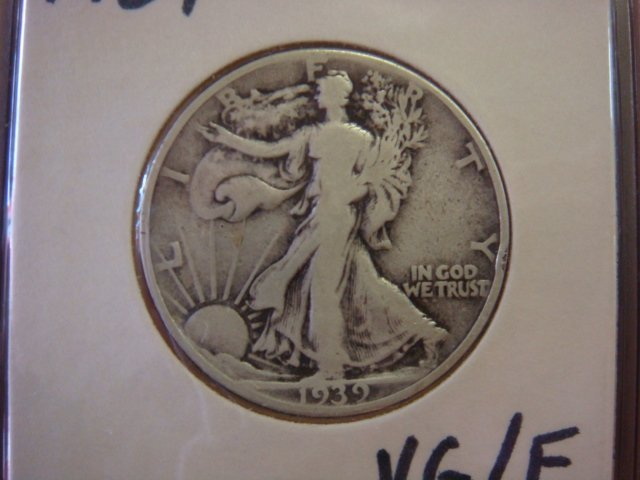 Twenty US WALKING LIBERTY Half Dollars 1920-1940: - 2