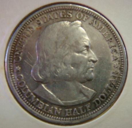 1893 Columbian Exposition Commemorative Half Dollar: