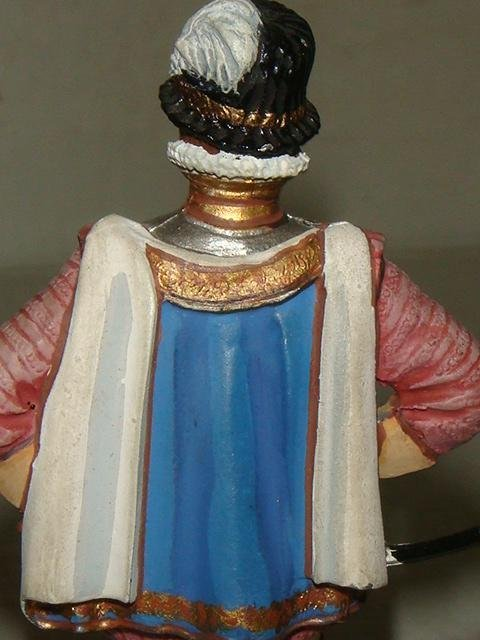 "SIR FRANCES DRAKE 3.5"" Hand painted Model Soldier: - 4"