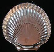 GORHAM Sterling Silver Scallop Shell Dish: