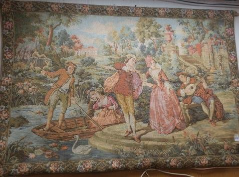 MARAX Belgium Tapestry of Young Lovers: