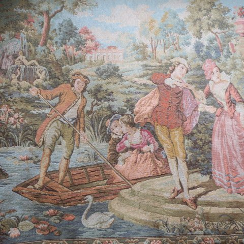 MARAX Belgium Tapestry of Young Lovers: - 2