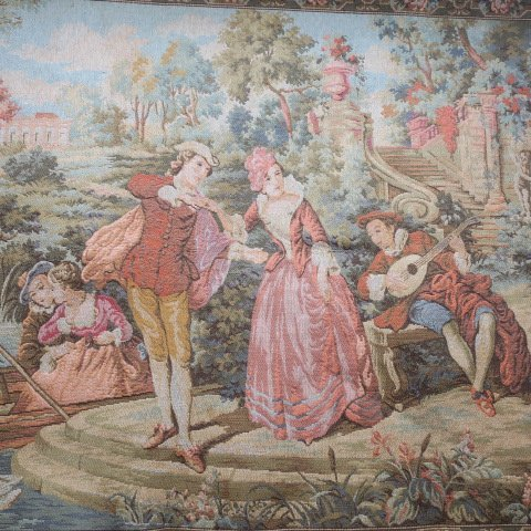MARAX Belgium Tapestry of Young Lovers: - 3