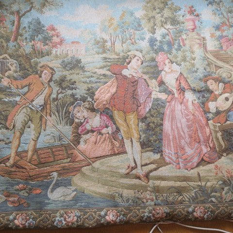 MARAX Belgium Tapestry of Young Lovers: - 6