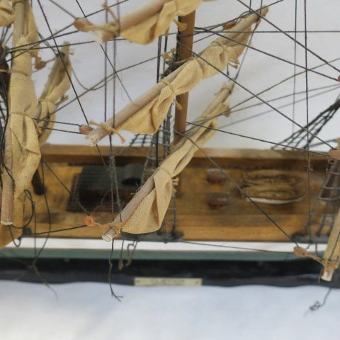 "Wooden Ship Model ""Clipper Ship XIX Century: - 3"
