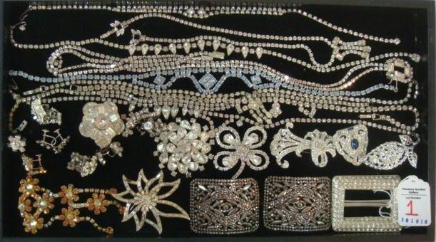 Ladies Rhinestone Costume Jewelry: