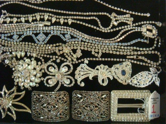 Ladies Rhinestone Costume Jewelry: - 3