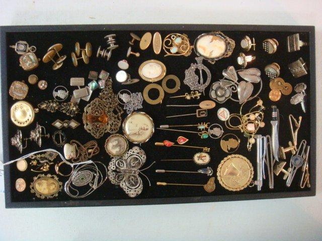 Vintage Ladies and Men's Jewelry: