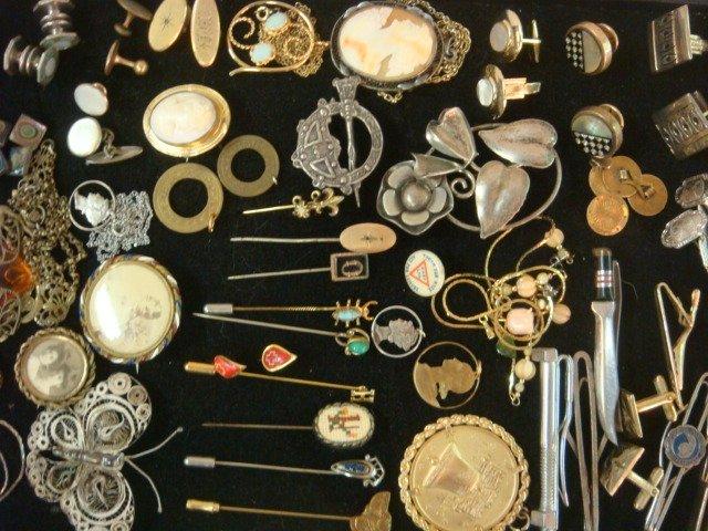 Vintage Ladies and Men's Jewelry: - 3