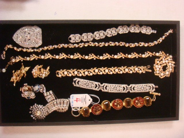 Collection of Named and Unnamed Costume Jewelry: