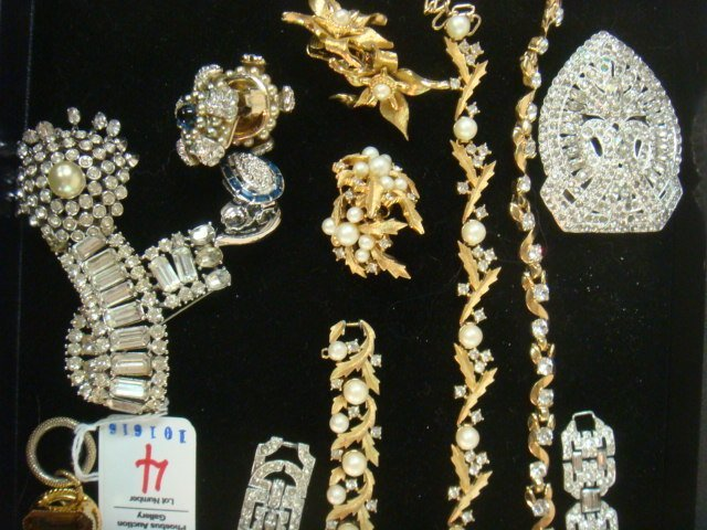 Collection of Named and Unnamed Costume Jewelry: - 2