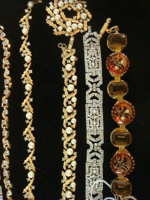 Collection of Named and Unnamed Costume Jewelry: - 3