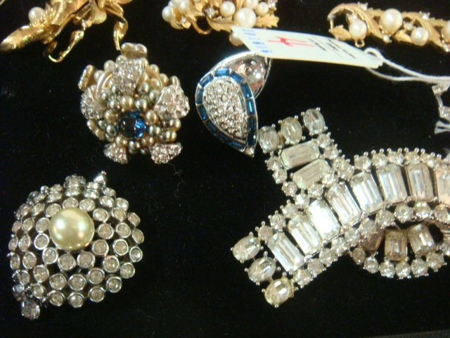 Collection of Named and Unnamed Costume Jewelry: - 4