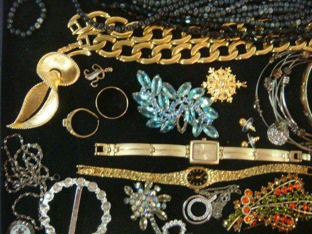 Medley of Ladies Costume Jewelry: - 2