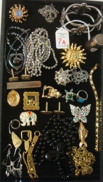 Selection of Men's and Women's Costume Jewelry: