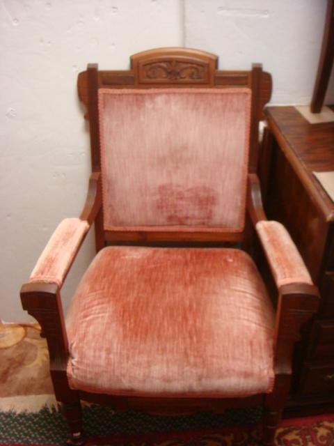 Two Eastlake Side Chairs and Arm Chair, CA. 1885: - 4