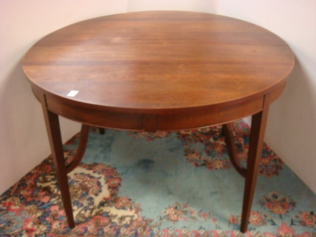 CRAFTIQUE Authentic Reproduction Mahogany Table:
