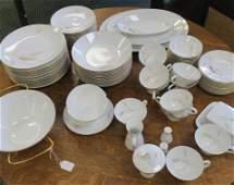 ROSENTHAL Regina Gold Dinnerware, 80 Pieces: