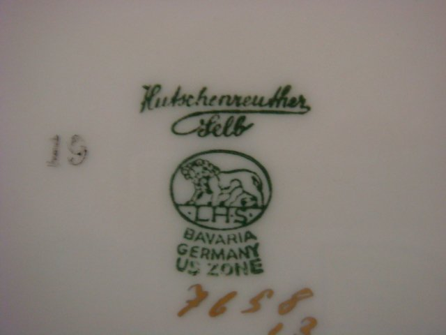 HUTSCHENREUTHER Richelieu Dinnerware, 65 Pieces: - 3
