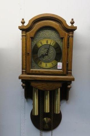 HERMLE German Wall Clock: