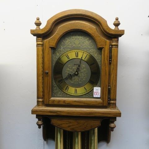 HERMLE German Wall Clock: - 6