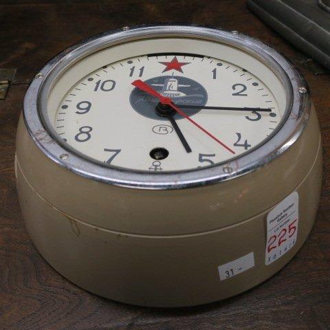 Soviet CCCP Submarine Clock: - 4