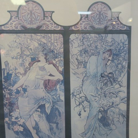 Alphonse Mucha Four Seasons Print: - 3