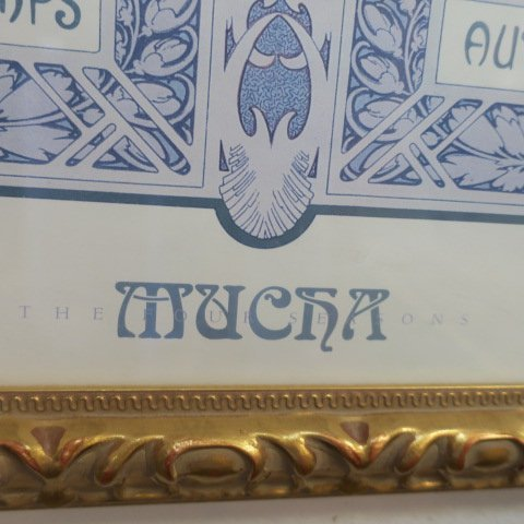 Alphonse Mucha Four Seasons Print: - 4