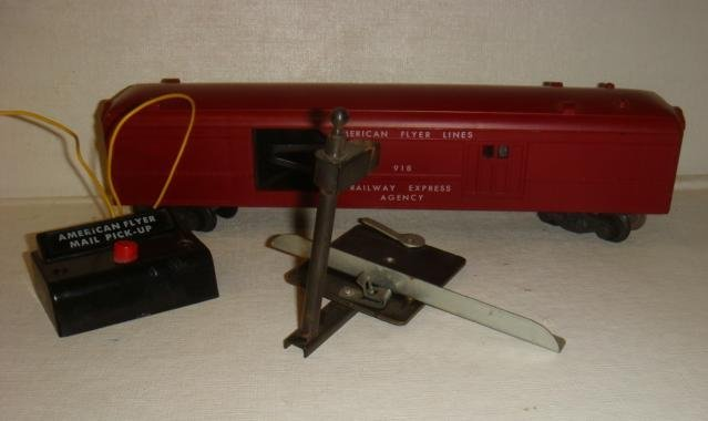 AMERICAN FLYER Train Set, 481 Silver Flash Diesel: - 3