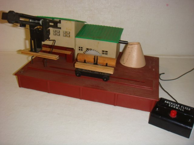 "AMERICAN FLYER, ""Remote Control Sawmill"", #23796:"
