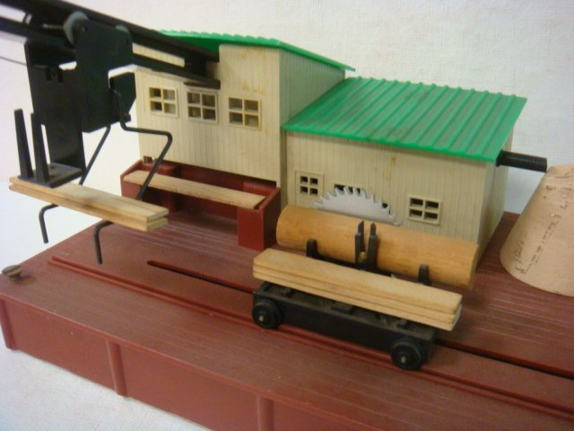 "AMERICAN FLYER, ""Remote Control Sawmill"", #23796: - 2"