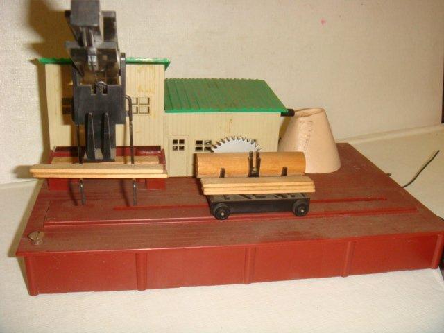 "AMERICAN FLYER, ""Remote Control Sawmill"", #23796: - 4"