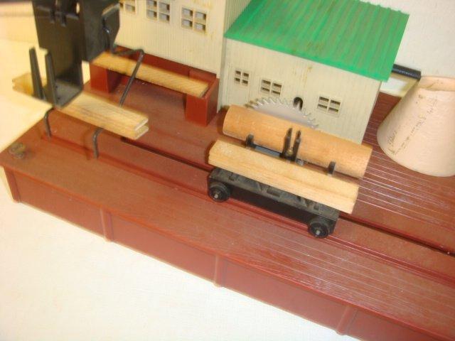 "AMERICAN FLYER, ""Remote Control Sawmill"", #23796: - 6"