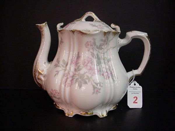 2: Theodore Haviland Mont-Mery Porcelain Teapot