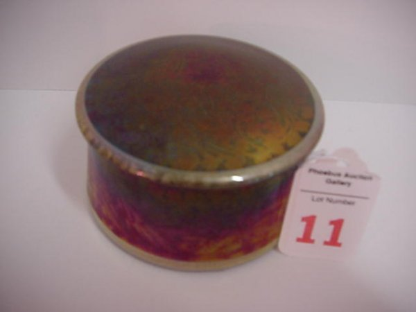 11: Pilkington Royal Lancastrian Signed Radford Box
