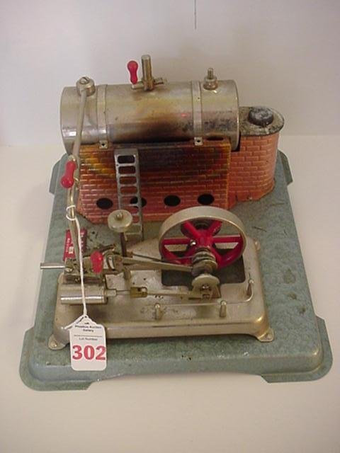 302: Jensen Model 75 Miniature Dry Fuel Steam Engine