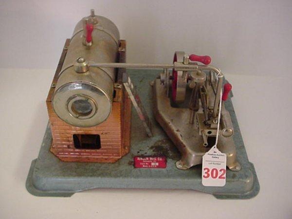 302: Jensen Model 75 Miniature Dry Fuel Steam Engine - 2