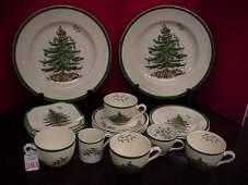 361 Spode Christmas Tree Pattern Dinnerware