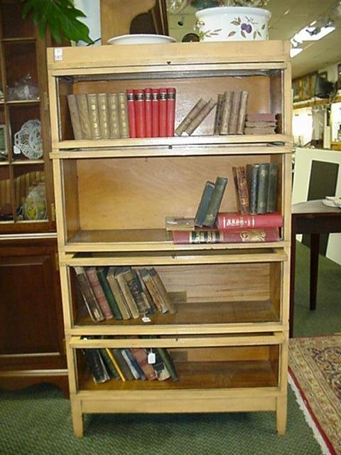597: 4 Stack Globe-Wernicke Barristers Bookcase: