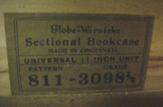 597: 4 Stack Globe-Wernicke Barristers Bookcase: - 2