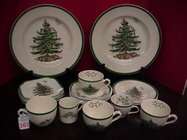 Spode Christmas Tree Pattern Dinnerware: