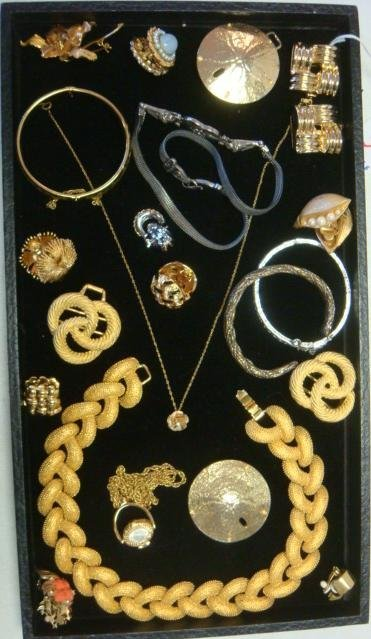 An Array of  Named and Unnamed Costume Jewelry: