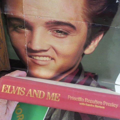 ELVIS PRESLEY Memorabilia, Gold Record, Book & Poster: - 3