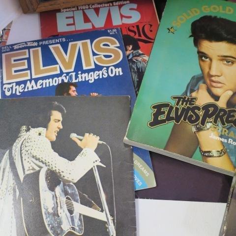 ELVIS PRESLEY Memorabilia, Gold Record, Book & Poster: - 5