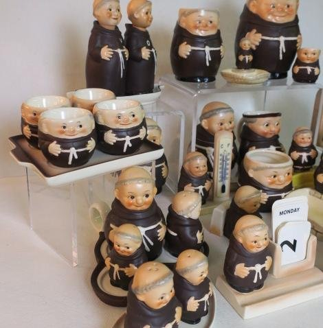"W. GOEBEL ""FRIAR TUCK"" Series Collectibles, 30 Pcs: - 3"
